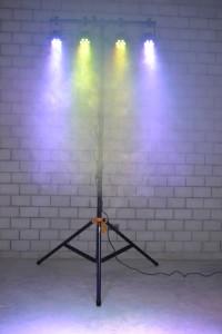 4x LED PAR & Stativ