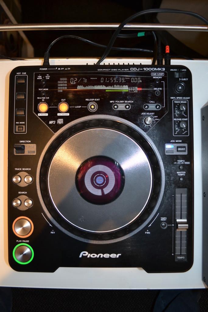 CD-, Mediaplayer, Plattenspieler