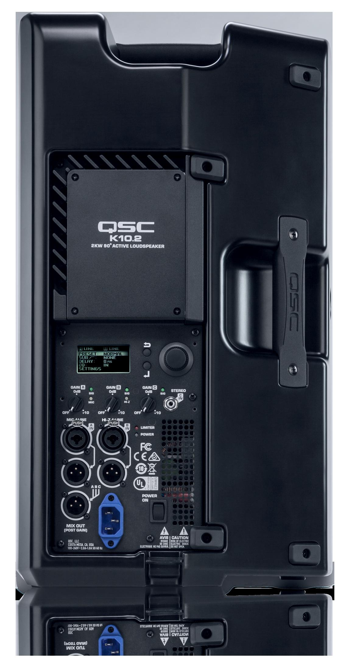 QSC K10.2 mieten